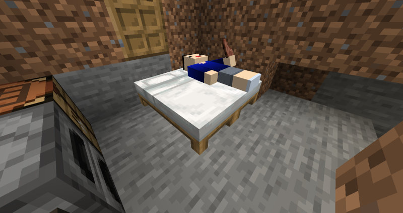 ベッド2人分完成!!
