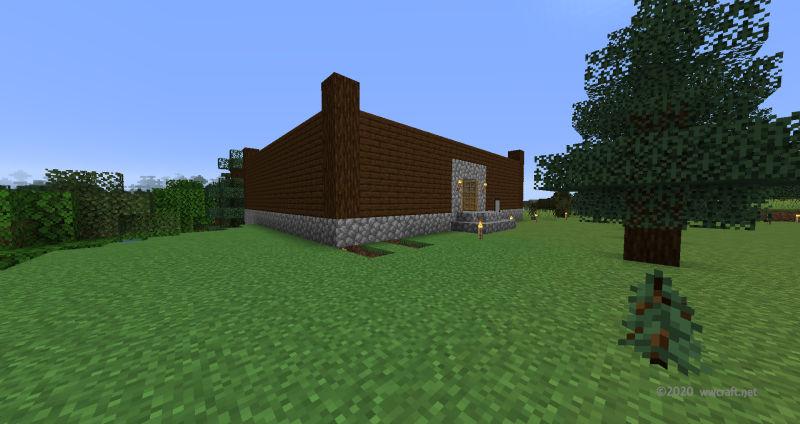 家づくり。柱と壁の作成