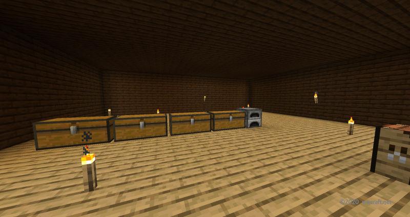 豆腐の家の室内