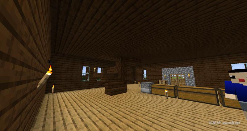 中間報告の室内