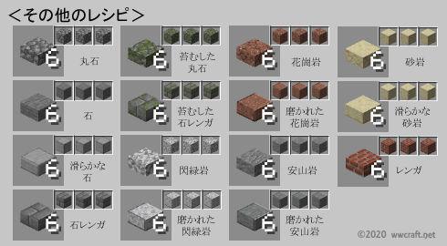 ハーフブロック(石系)の作り方